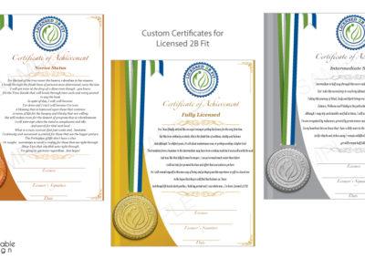 Certificates-Licensed