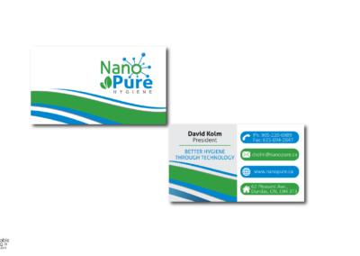 nano-pure-business-cards